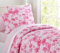 Potterybarn Bedding Bed Pink Bedding Girl Room