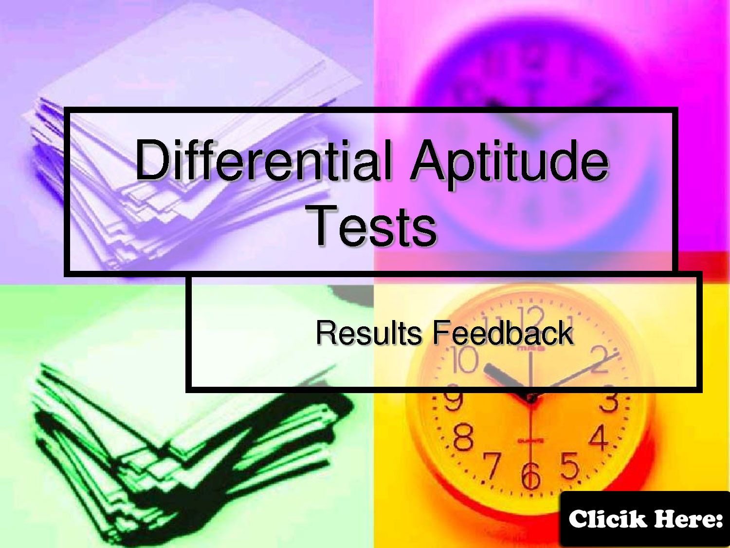 Free Aptitude Test Online Practice Tests Click Here