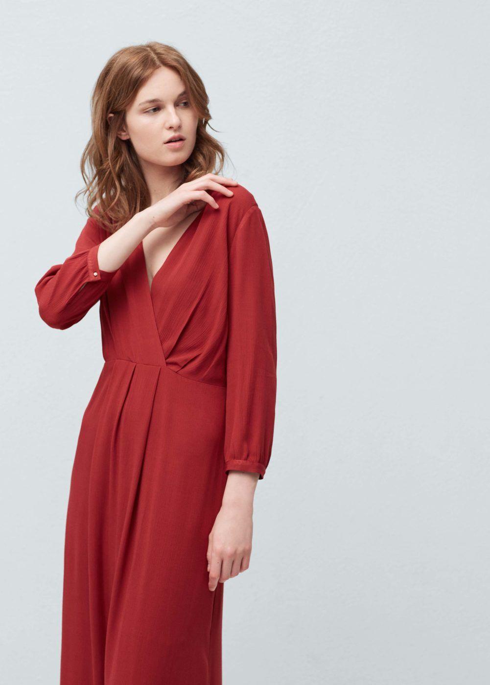 Dlouhé splývavé šaty - Žena  c7f5ba4061f