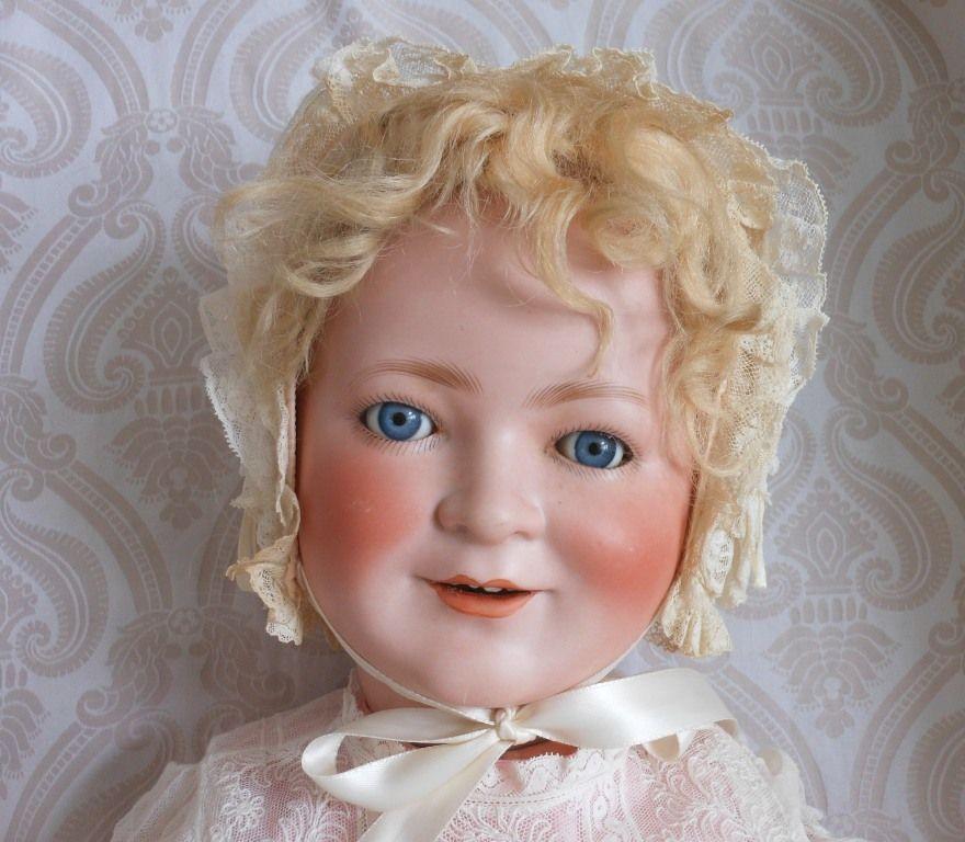 """Large Schoenau & Hoffmeister German Bisque Head Doll """"Princess Elizabeth"""""""