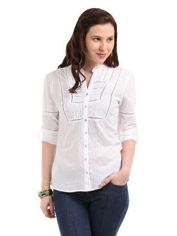 Roadster Women White Shirt | Myntra
