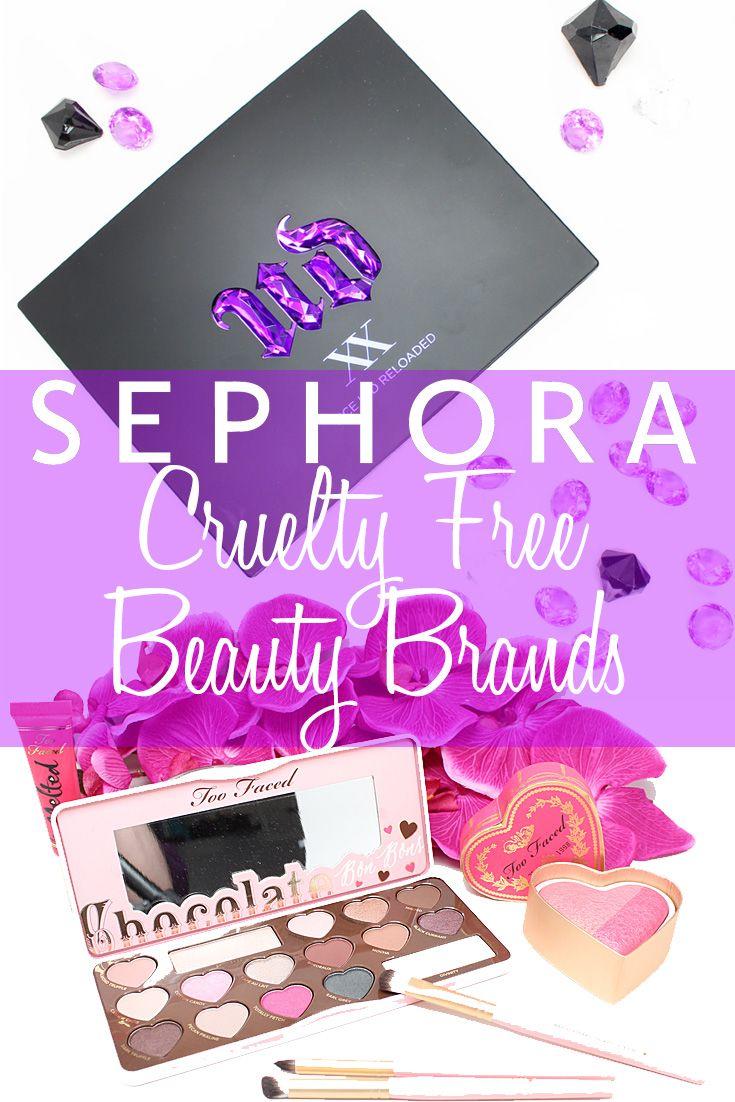 Cruelty Free Beauty Brands at Sephora Cruelty free