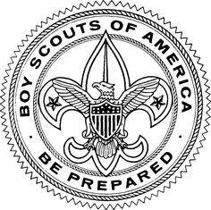 black and white large size downloadable scout clipart badge emblem rh pinterest com bsa clip art boy scout bsa clip art free printable