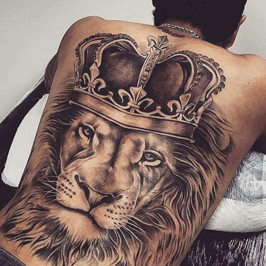 King tattoo Back tattoos for guys, Full back tattoos