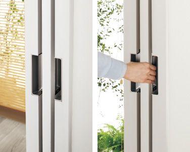 戸袋内から引戸の取り出しが簡単 インテリア 収納 建材 内装