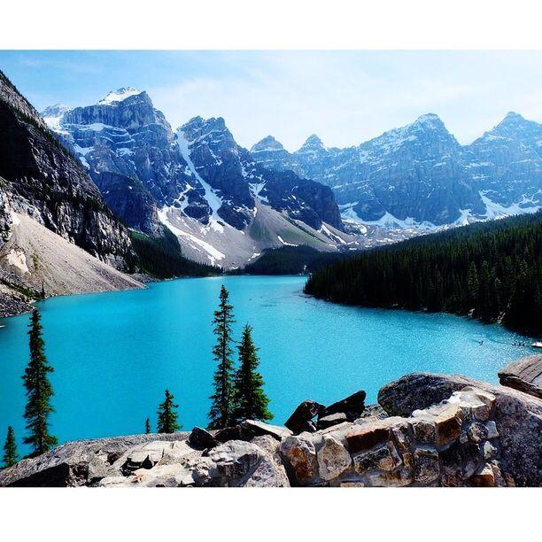 Banff National Park of Canada, Banff, Alberta - Lake Morraine.