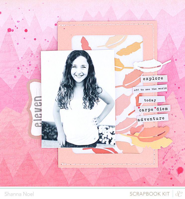 Scrapbooking Kits, Paper & Supplies, Ideas & More at StudioCalico.com! Shanna Noel - so cute