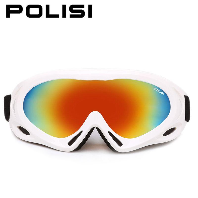 a6afd31abb3 POLISI Winter Men Women Ski Goggles Anti-Fog Snowboard Snowmobile Glasses  UV4000 Esqui Skate Sports