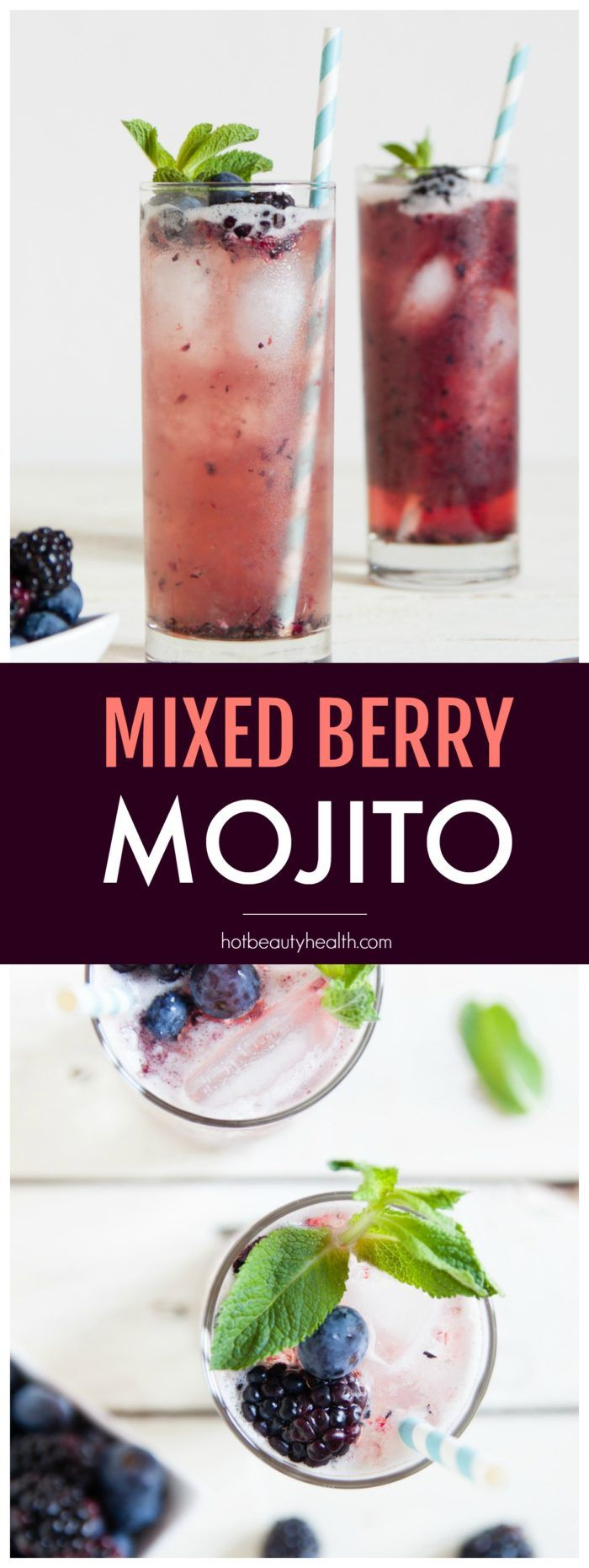 Recipe: Mixed Berry Mojitos - Hot Beauty Health