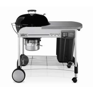 Weber Performer Platinum 22 1 2 In Charcoal Grill In Black
