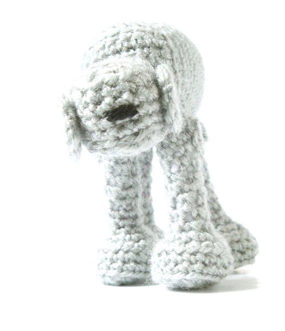 Star Wars AT-AT Walker Crochet Amigurumi Pattern
