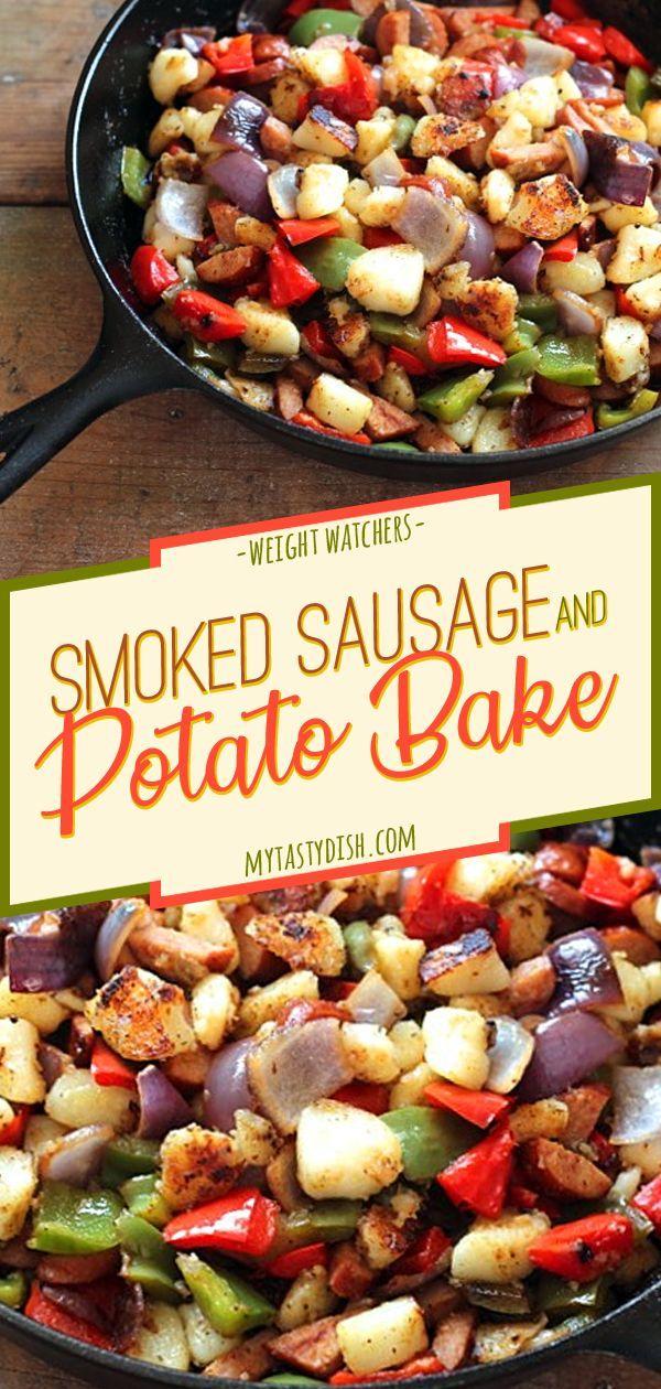 Smoked Sausage And Potato Bake #favoriterecipes