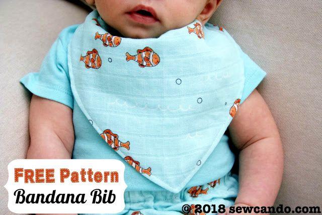 Sew Can Do: FREE Pattern Download - Bandana Baby Bib | sewing ...
