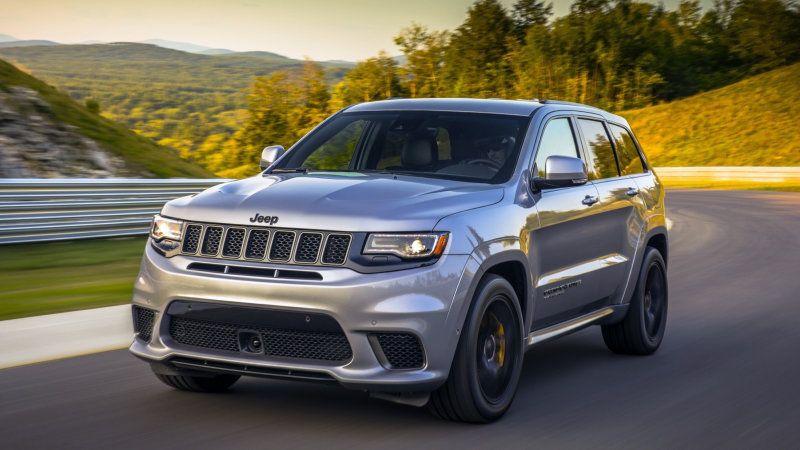 2018 Jeep Grand Cherokee Trackhawk First Drive Jeep Grand Jeep
