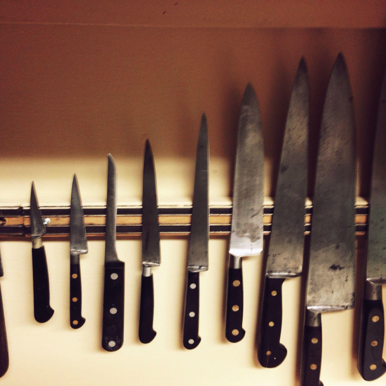 Vintage Sabatier Kitchen Knives