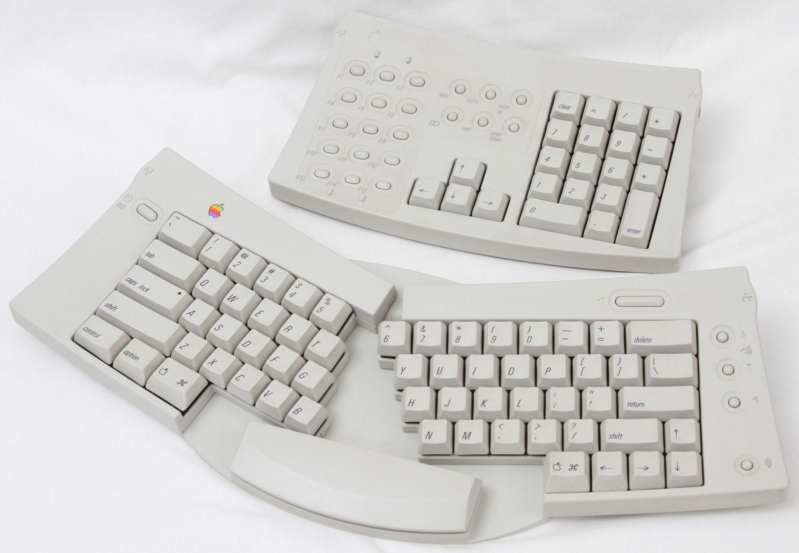 Rare Vintage Apple Adjustable Keyboard With Numeric Keypad Numeric Keypads Keyboard Vintage Apple