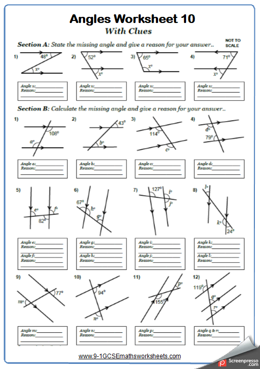 Gcse math th grade fun also pin by twstampin on teacher stuff worksheets geometry rh pinterest