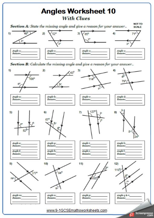 Gcse math th grade fun also pin by twstampin on teacher stuff worksheets geometry rh pinterest