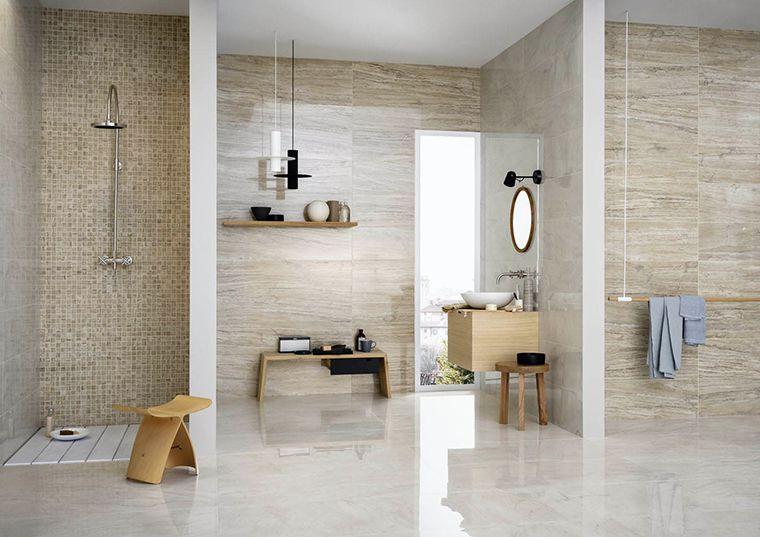 Gres Effetto Marmo Allmarble By Marazzi Bagni Moderni Design Del Bagno Bellissimi Bagni