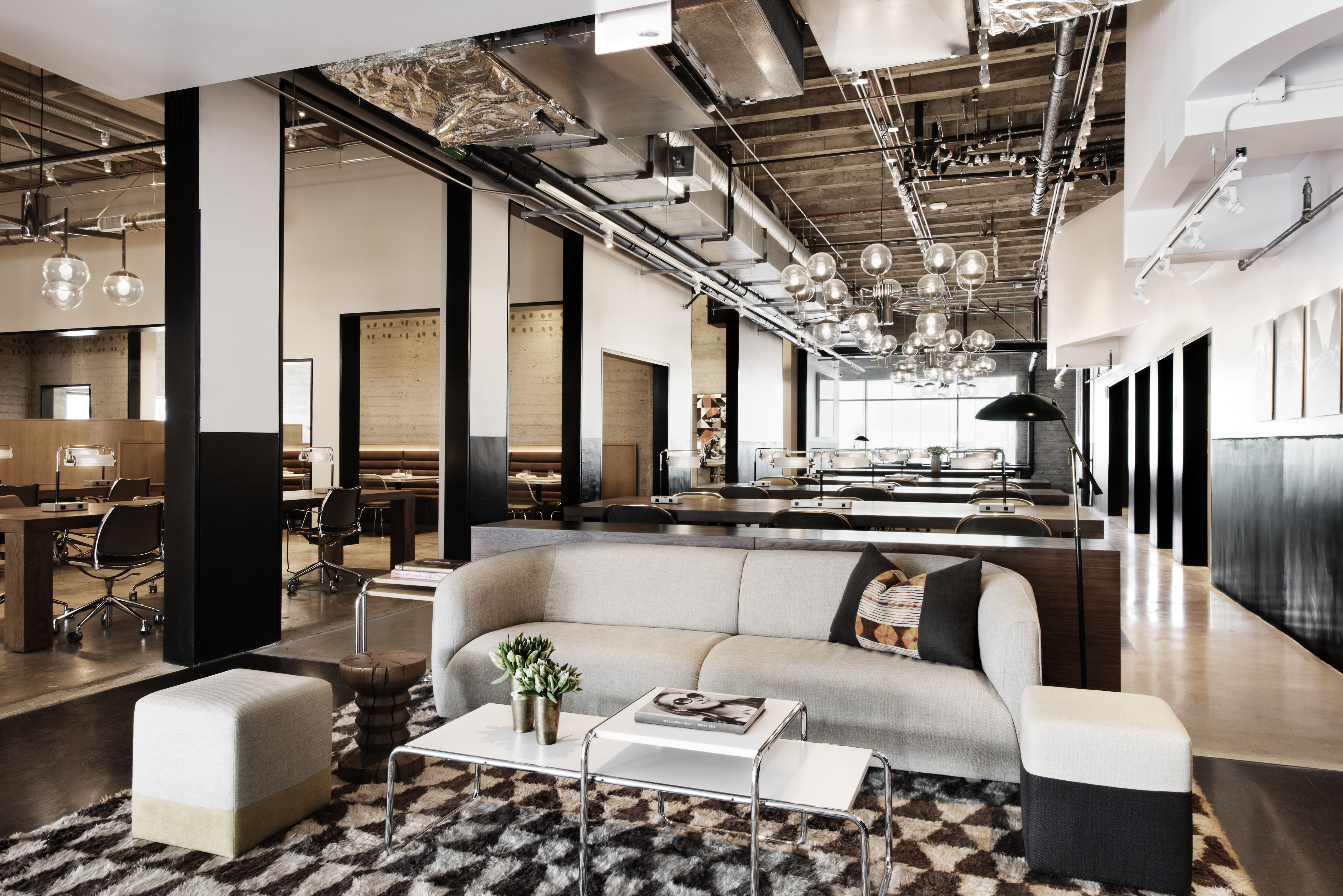 creative office spaces. NeueHouse Opens A Creative Work Space In L.A Office Spaces