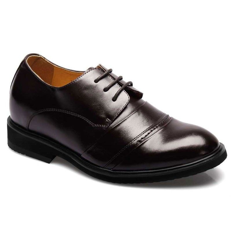 Dress shoes to make men look taller 2.56 inch #X6031-1