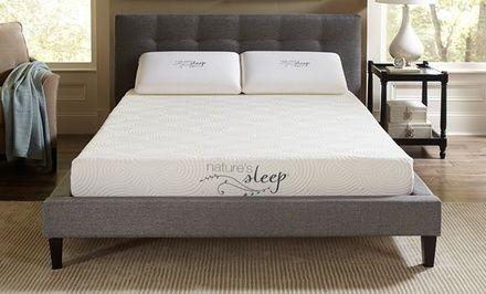 Nature S Sleep Cool Iq 8 Gel Infused Memory Foam Mattress Really