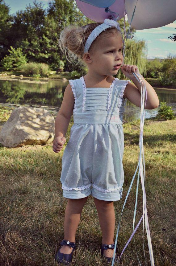 Girl Romper/Dress PDF Pattern - The \