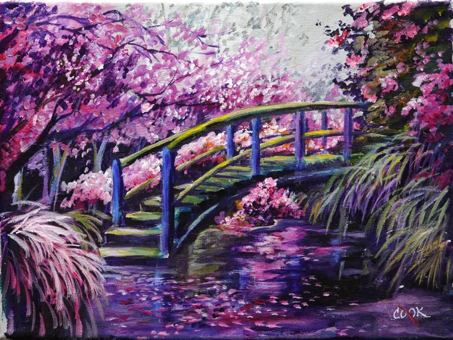 """""""Japanese Garden"""" is our Feb 10th Academy VLL weekly ..."""