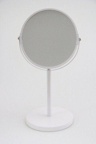 Two Sided Tabletop 360 Degree Swivel Vanity Mirror 1x 3x