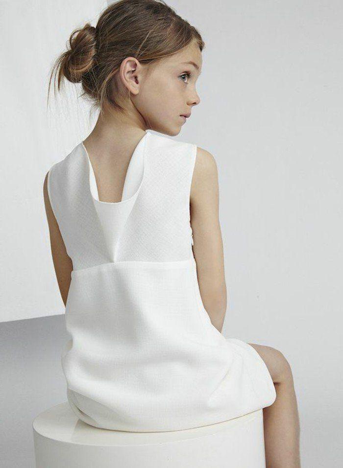 c6a01012574 Robe pour petite fille qui produit un grand effet en 55 photos