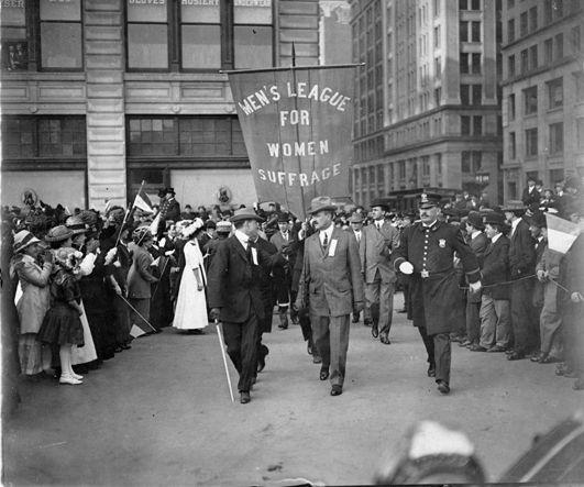 Men S League For Women Suffrage Representative Marching In History Movement Suffragette Woman Essay