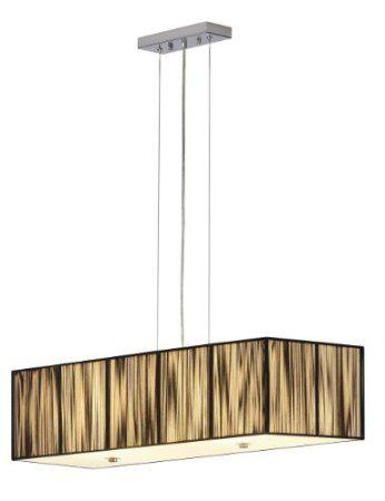 Decken-Pendelleuchte Lasson schwarz: Amazon.de: Beleuchtung