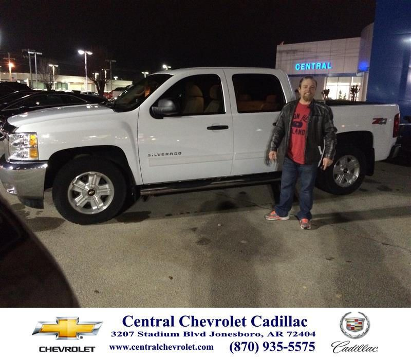 https://flic.kr/p/BbqevJ | Happy Anniversary to Randal on your #Chevrolet #Silverado 1500 from Neal Carpenter at Central Chevrolet Cadillac! | deliverymaxx.com/DealerReviews.aspx?DealerCode=A020