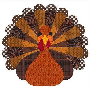 Free Thanksgiving Turkey Quilt Block Pattern by Sindy Rodenmayer ... : free thanksgiving quilt patterns - Adamdwight.com