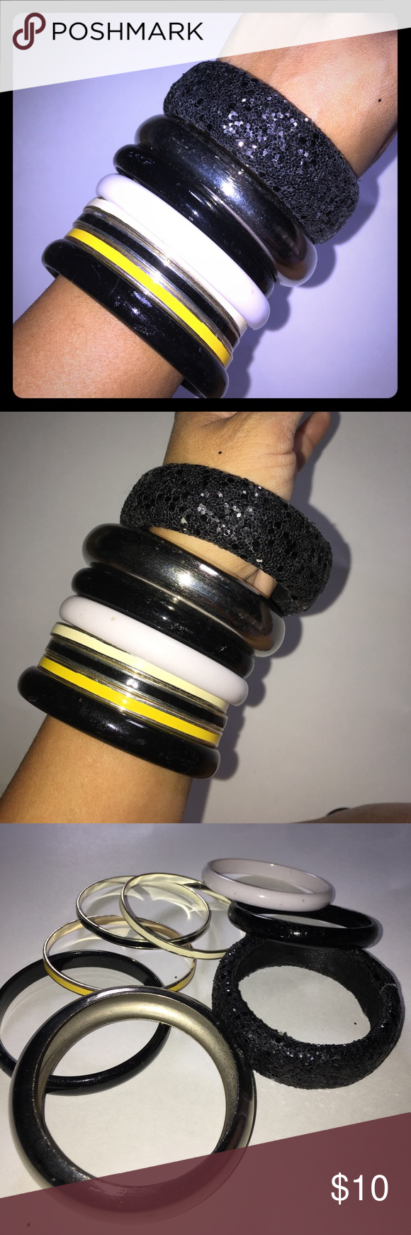 Bangle set items total wear all together or make your own sets