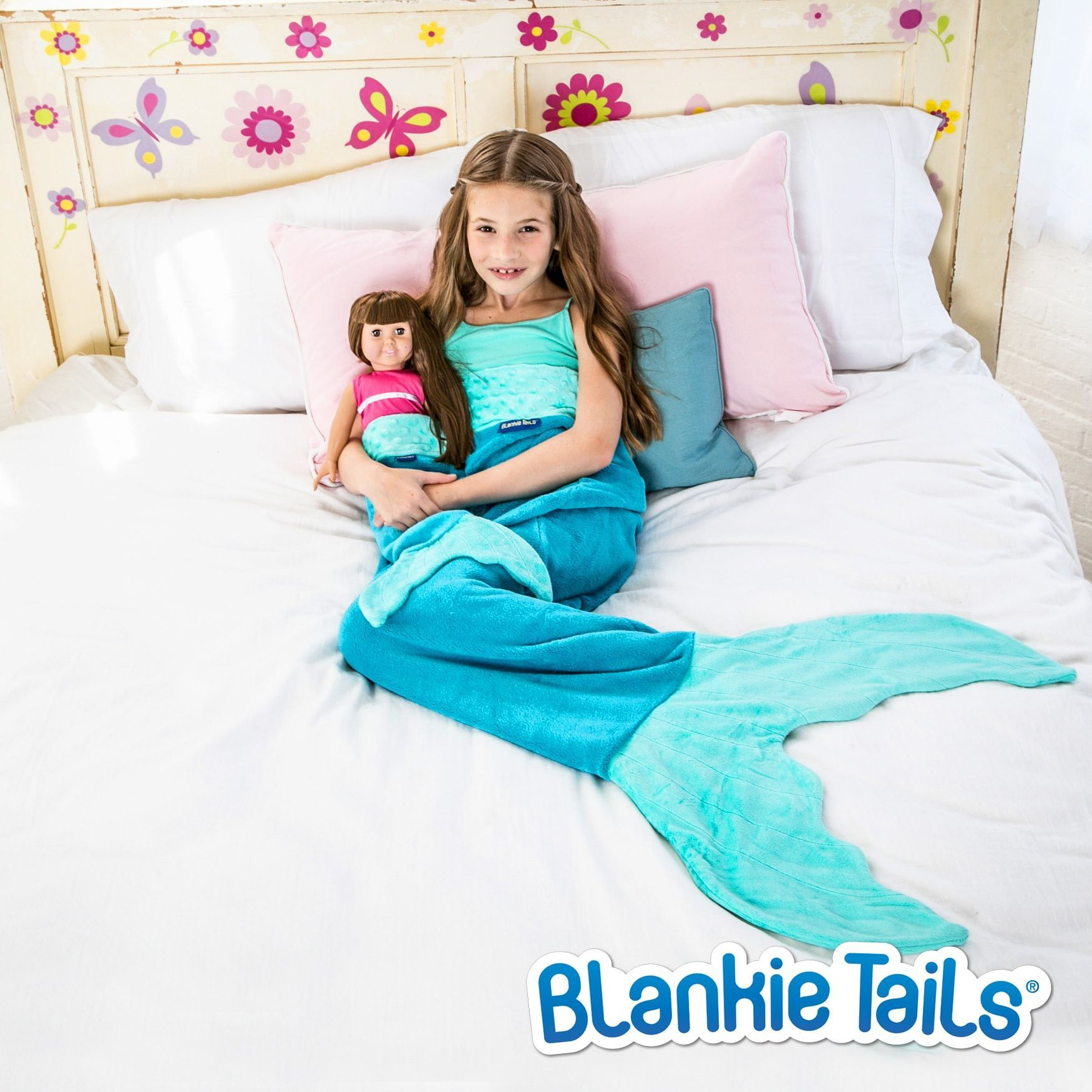 Mermaid Tail Blanket For Kids Classic Design In 2 Fintastic
