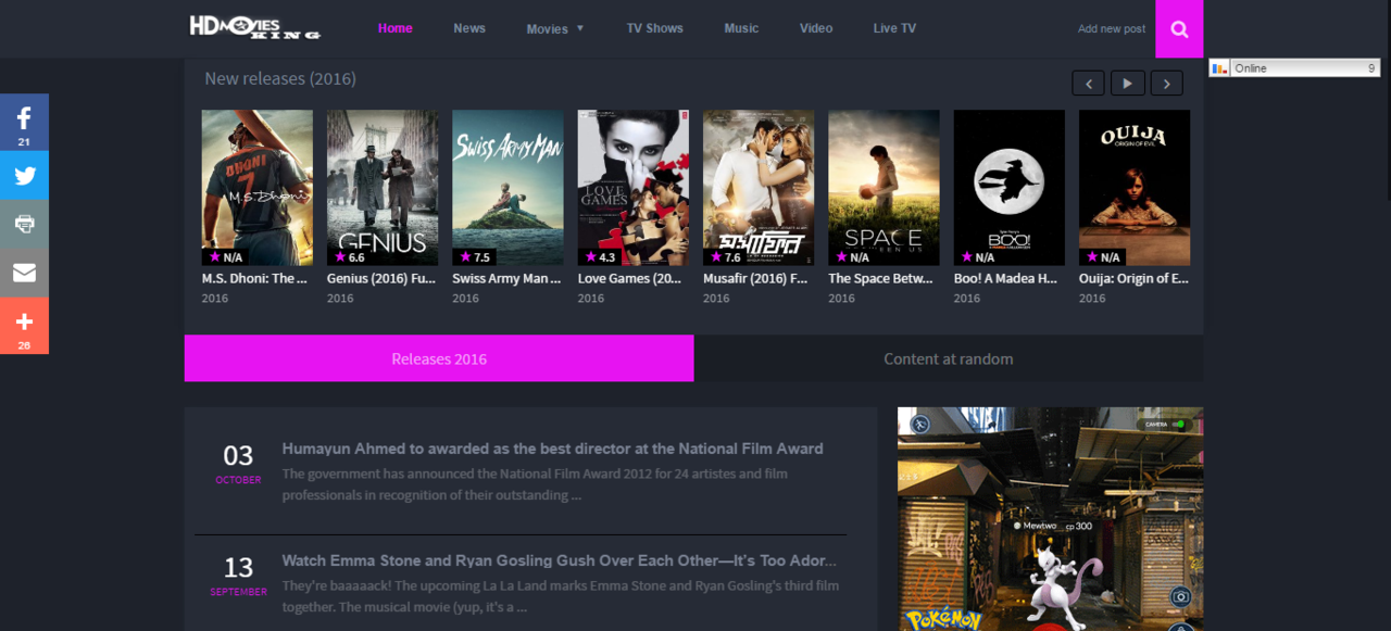 HD Movies Watch - Free Watch Movies Online   Review ...