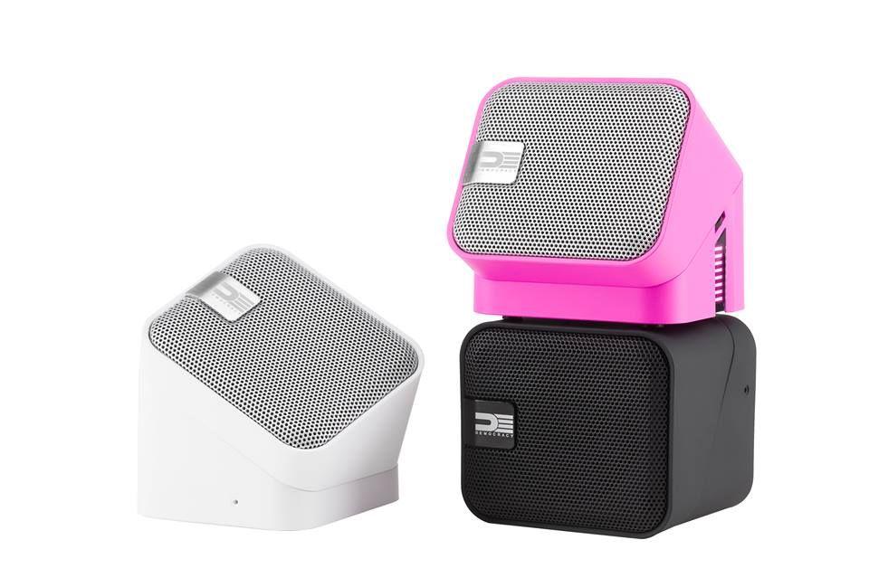 DEMOCRACY Bluetooth portable speakers - Gadget.com