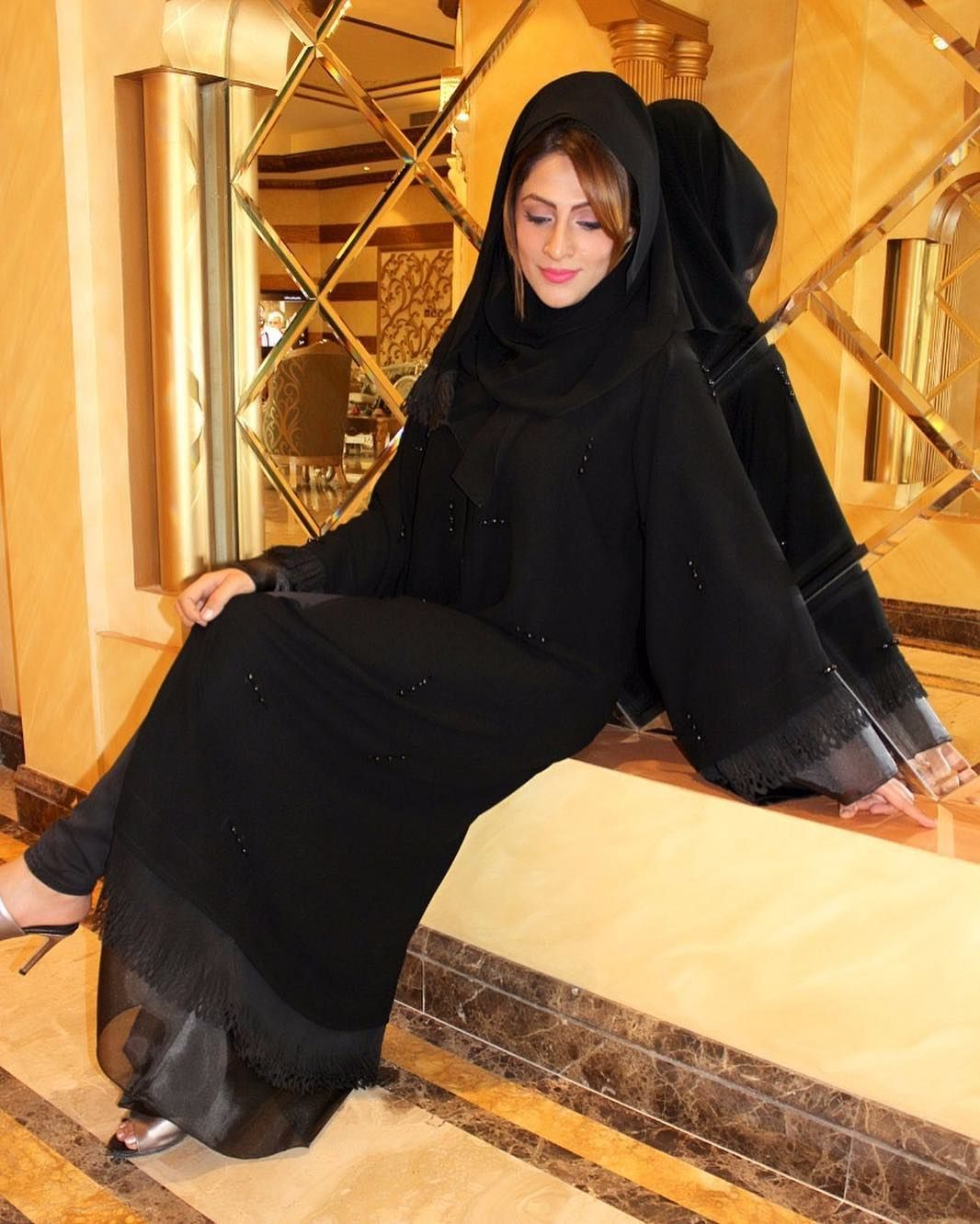 Design No L027 Abaya Materials altebet Al Tebet