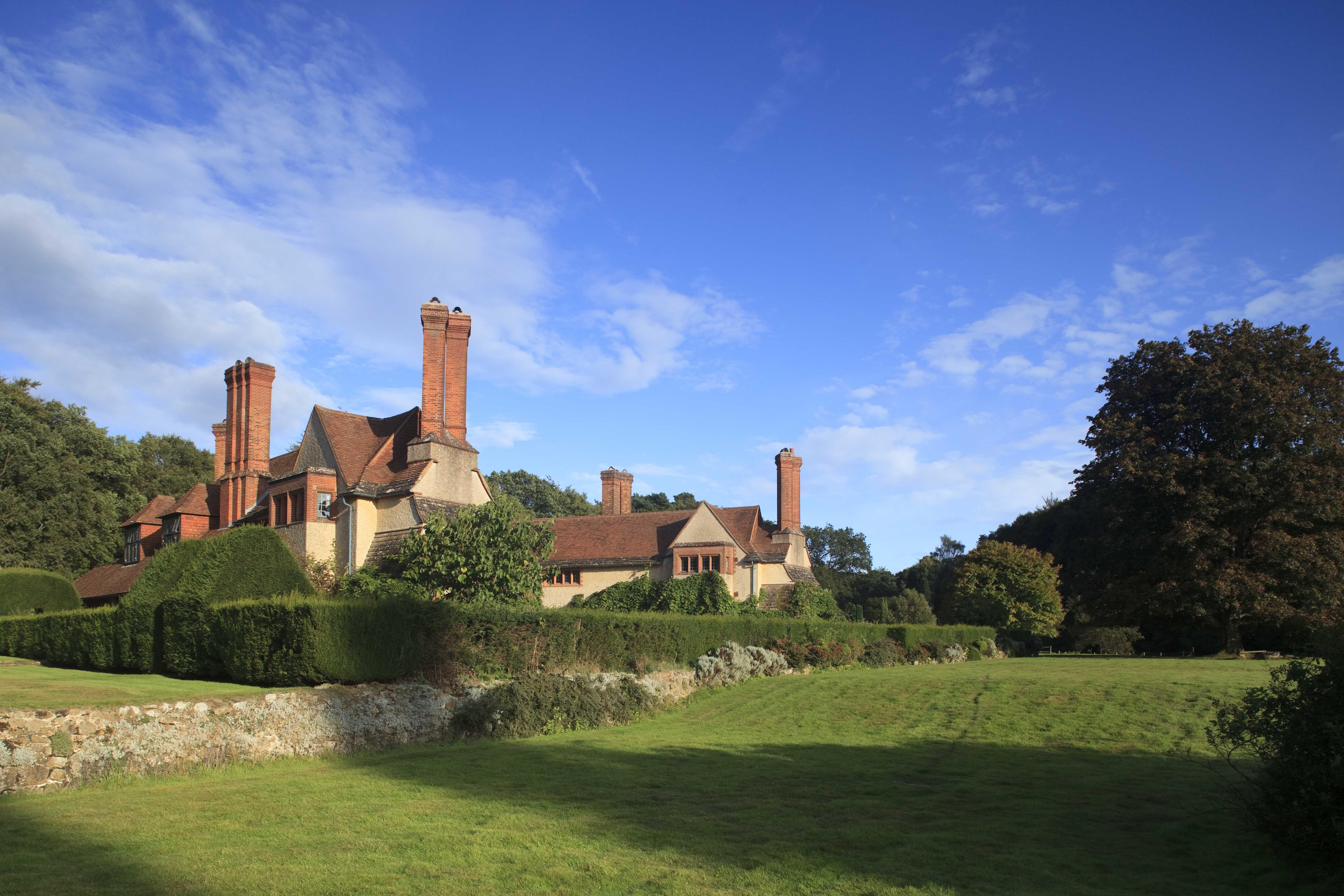Goddards, Abinger Common, Surrey http://www.landmarktrust.org.uk/search-and-book/properties/goddards-8013  #Goddards #Surrey #AbingerCommon #sunshine #shortbreaks #garden #holiday #historicholidays #LandmarkTrust