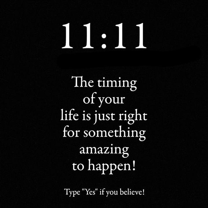 Type 1111 to affirm  #1111awakening #111 #1111divinelight1111 #1111wish #222 #angelnumber333 #angelnumber444 #999 #angelnumbers #666 #777luckyfish #lawofattraction