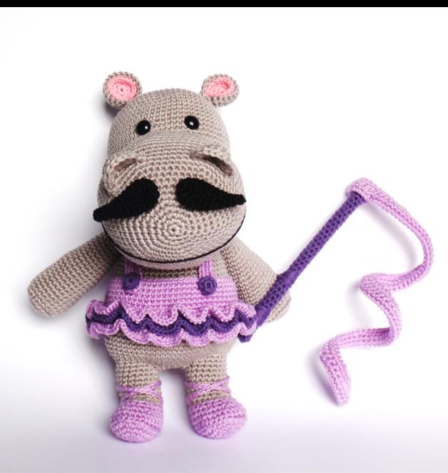 HIPPO Ballerina Crochet Pattern, Mika   Ballerina, Crochet and Patterns