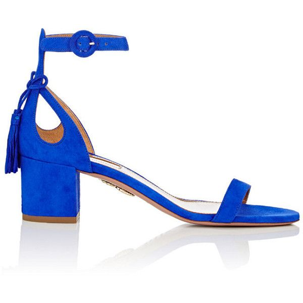 Aquazzura Arc Sandales Détail - Bleu 0SxRluHjuY