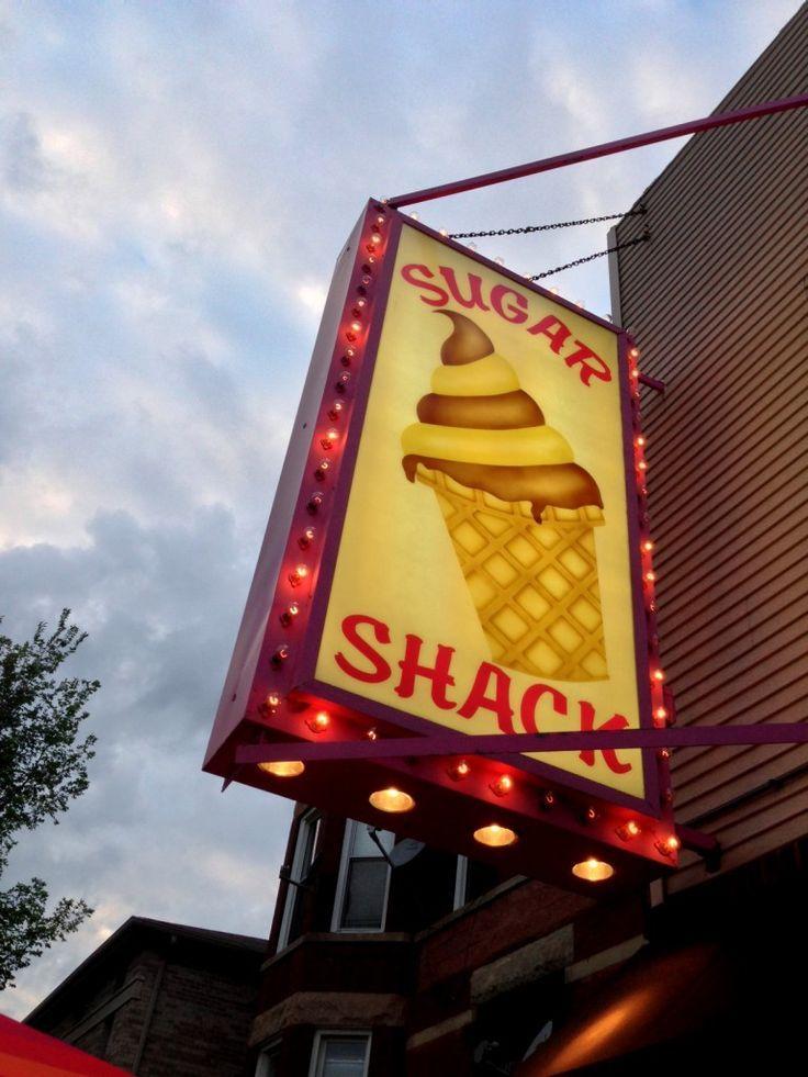 ice cream shops Ice cream shop, Sugar shack, Neon signs