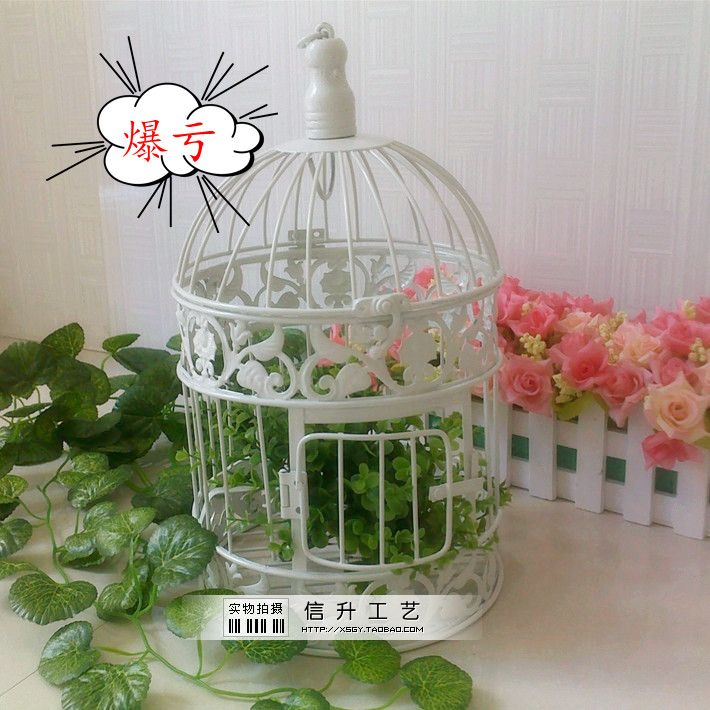 Fashion iron birdcage wedding decoration bird cage bird cage bird