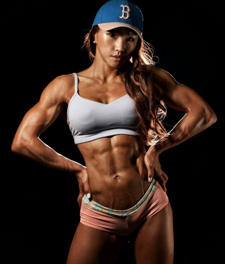 CHU-MI KIM | fitness | Pinterest | Bodies, Hard bodies and Muscle girls