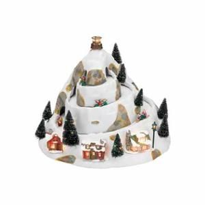 Animated Symphony Of Bells Musical Tabletop Decoration Mrchristmas Animated Musical Winter Wonderland Holiday Hill