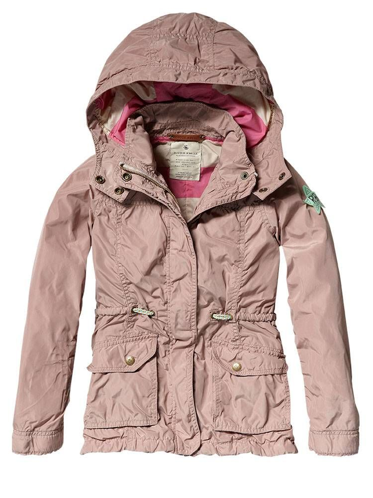 Hooded summer parka - Jackets - Official Scotch & Soda Online Fashion & Apparel Shops