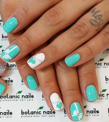Tiffany co nails for the baby shower baby shower pinterest tiffany co nails for the baby shower prinsesfo Images