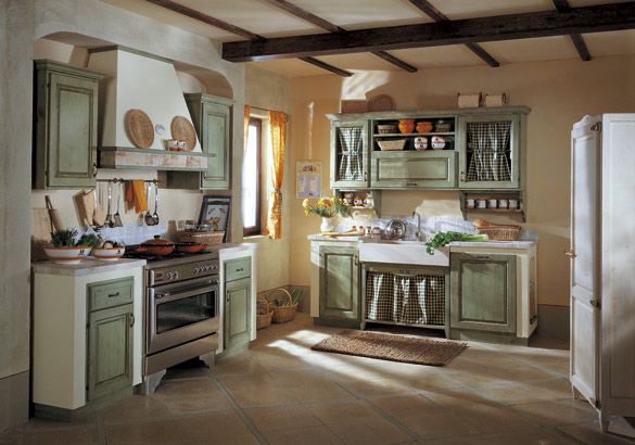 Progetti cucine in muratura cerca con google home pinterest country style kitchens and - Cucine in muratura progetti ...